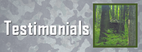 Testimonial Button - Hunting Blinds