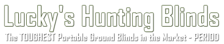 Logo - Lucky's Hunting Blinds - Hunting Blinds