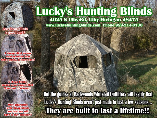 Hunting Blinds Ad