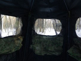Bow Blinds - Tent Interior